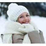 Как защитить кожу зимой.